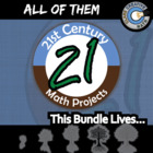 21st Century Math Projects -- My Entire Store! + Free Down