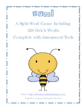 220 Dolch Words Mega Pack {Game & Assessment Tools}