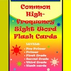 220 High-Frequency Sight Word Flash Cards