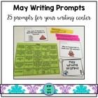 25 (+5!) May Writing Prompts