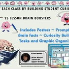 25 Writer Brain Boosters - Posters and Prompts!