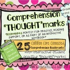 25 Common Core Reading Comprehension Bookmarks
