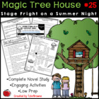 #25 Magic Tree House- Stage Fright on a Summer Night Questions