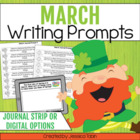 25 March Writing Journal Prompts