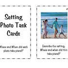 25 Setting Photo Task Cards