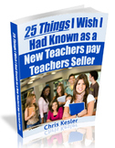 25 Things I Wish I Had Known as a New Teachers pay Teacher