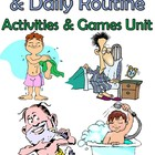 25 pg. Spanish Reflexive Verbs & Daily Routine Notes/Activ