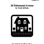 26 Fairmount Avenue Novel Study