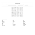 28 Answer The Lightning Thief Word Search with Key
