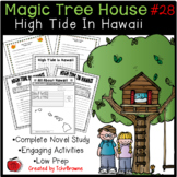 #28 Magic Tree House- High Tide in Hawaii Questions