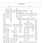 28 Question The Lightning Thief Crossword with Key