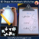 2D & 3D Shape Geometry Pack (Grades 3 to 6)