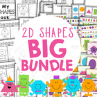 2D Basic Geometric Shape / Shapes Teaching Pack