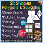 2D SHAPES, POLYGONS AND SQUIGGLES