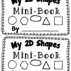 2D Shape Activity {My 2D Shapes Mini-Book} {Common Core Al