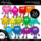 2D Shape Friends {Graphics for Commercial Use}