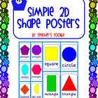 {Freebie} Simple 2D Shape Posters