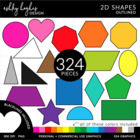 2D Shapes {Graphics for Commercial Use}