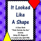 2D Shapes: It Looked Like A Shape