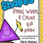 2D Shapes Read, Write, and Count the Room {Literacy and Ma