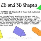 2D and 3D Shape Hunt Around the Room