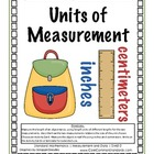 2.MD.2 Second Grade Common Core Worksheets, Activity, and Poster