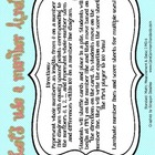 2.MD.6 Second Grade Common Core Worksheets, Activity, and Poster