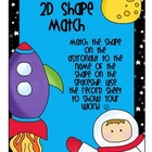 2d and 3d shape geometry packet