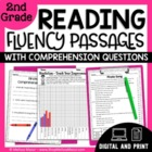 2nd Grade - 30 Reading Fluency and Comprehension Passages