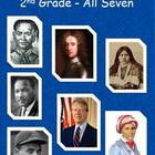 2nd Grade All Seven Historical Figures for GPS:  Reader'sT