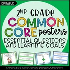2nd Grade Common Core {Essential Questions &amp; Learning Goal