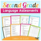 2nd Grade Common Core Language Assessments [Education to t