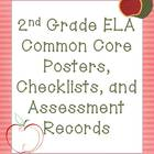 2nd Grade Common Core Language Pack (Apple Theme)