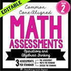 2nd Grade Common Core Math Assessment-Operations and Algeb