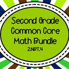 2nd Grade Common Core Math Bundle - 2.NBT.4