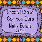 2nd Grade Common Core Math Bundle FREEBIE - 2.NBT.1