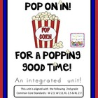 2nd Grade Common Core: Popcorn Themed Writing and Reading FUN!