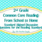 2nd Grade Common Core Reading Discussion Questions: From S