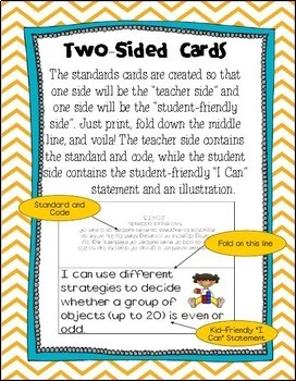 "2nd Grade Common Core Standards Posters- ""Kid Friendly"""