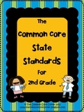 2nd Grade - Common Core State Standards