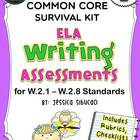 2nd Grade Common Core Writing Assessment
