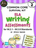 Common Core Writing 2nd Grade