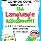 2nd Grade Common Core Language Assessment