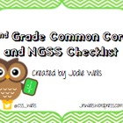 2nd Grade Common Core and NGSS Benchmarks