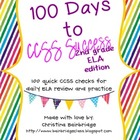 2nd Grade ELA- 100 Days to CCSS Success- Daily Review