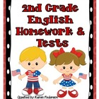 2nd Grade English Homework &amp; Tests for Scott Foresman&#039;s Re