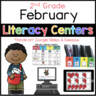 2nd Grade February Literacy Centers