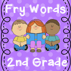 2nd Grade Fry Words -Word Wall