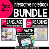 2nd Grade Interactive Notebook BUNDLE {ELA & MATH}