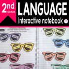 2nd Grade LANGUAGE Interactive Notebook {Common Core Aligned}